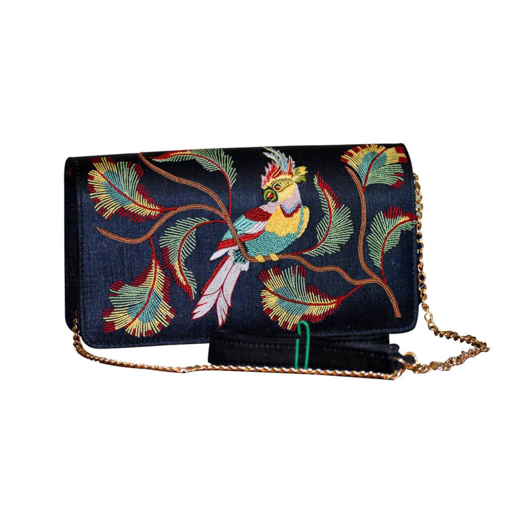 Embroidery Sling Bag