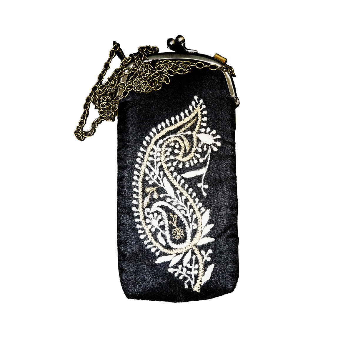 Silk Mobile Pouch (Black)