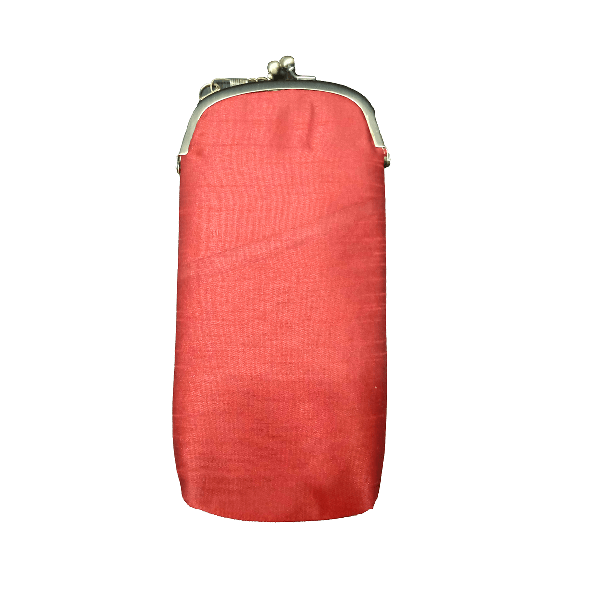 Silk Mobile Pouch (Red)