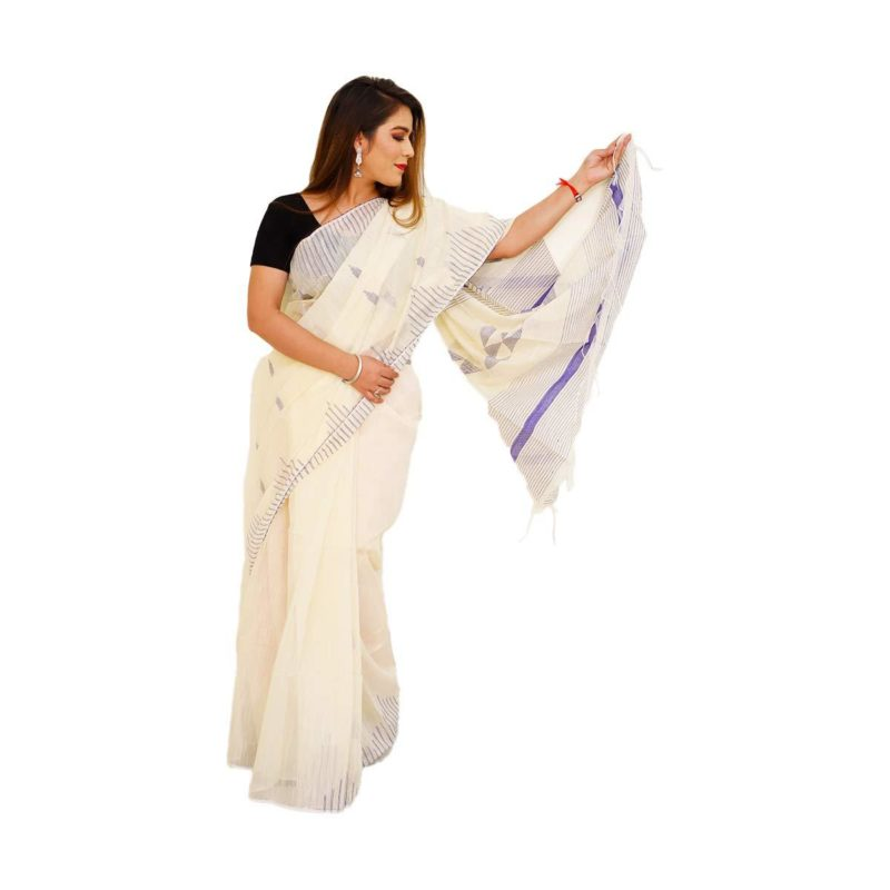 Temple Design Handloom Silk Sarees