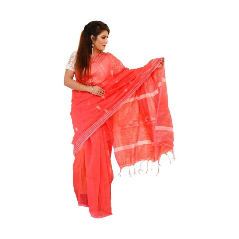 Temple Design Handloom saree