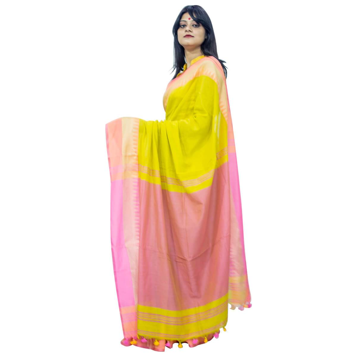 Cotton Silk Saree AG
