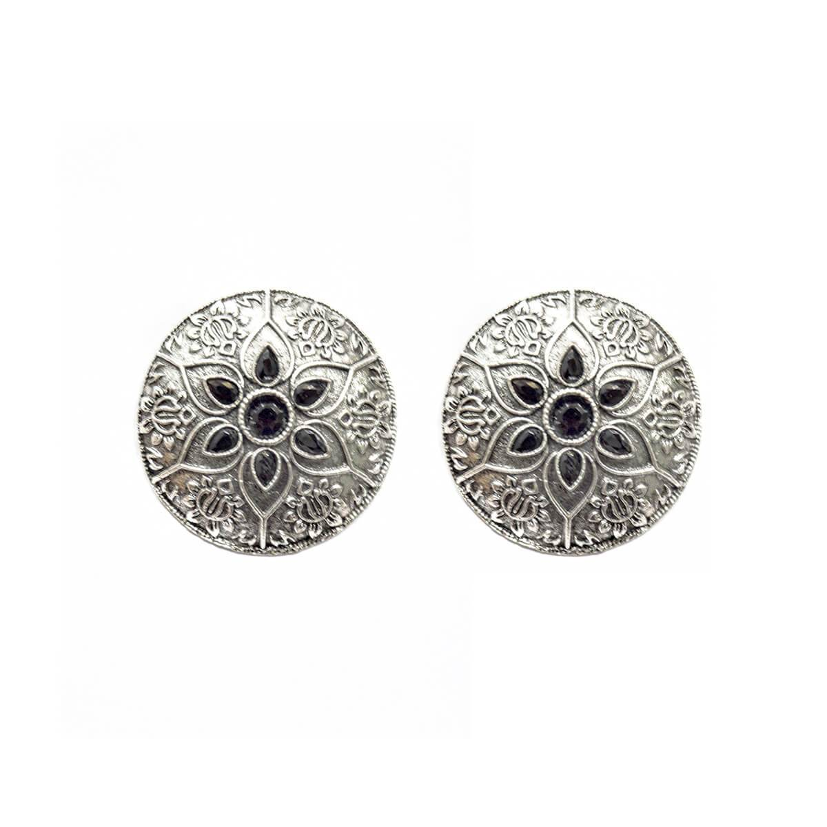 Sun Design Earring