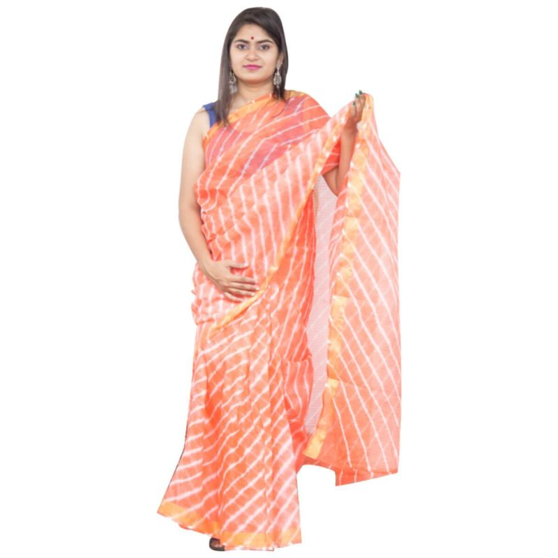 Kota Cotton Silk Handloom Saree
