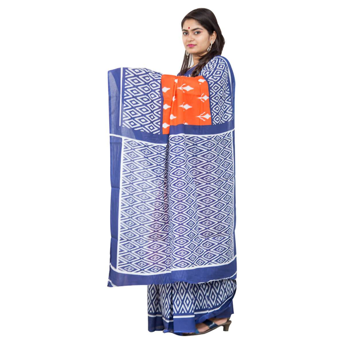 Cotton Handloom Saree