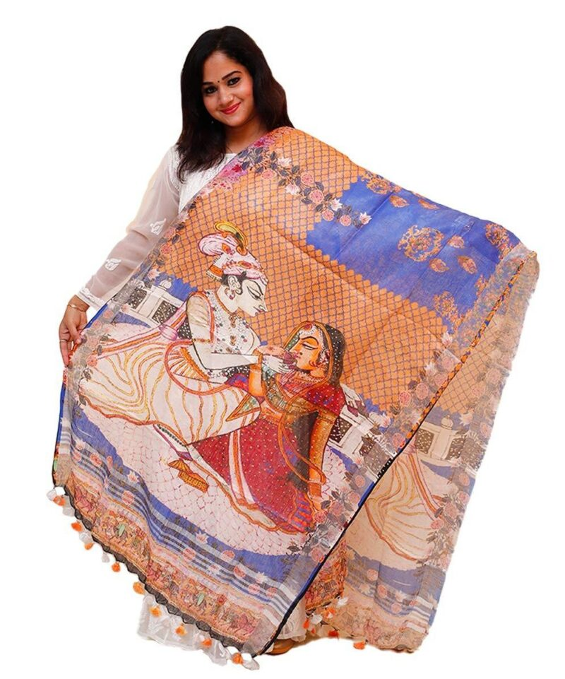 Beautiful Digital Printed Dupatta