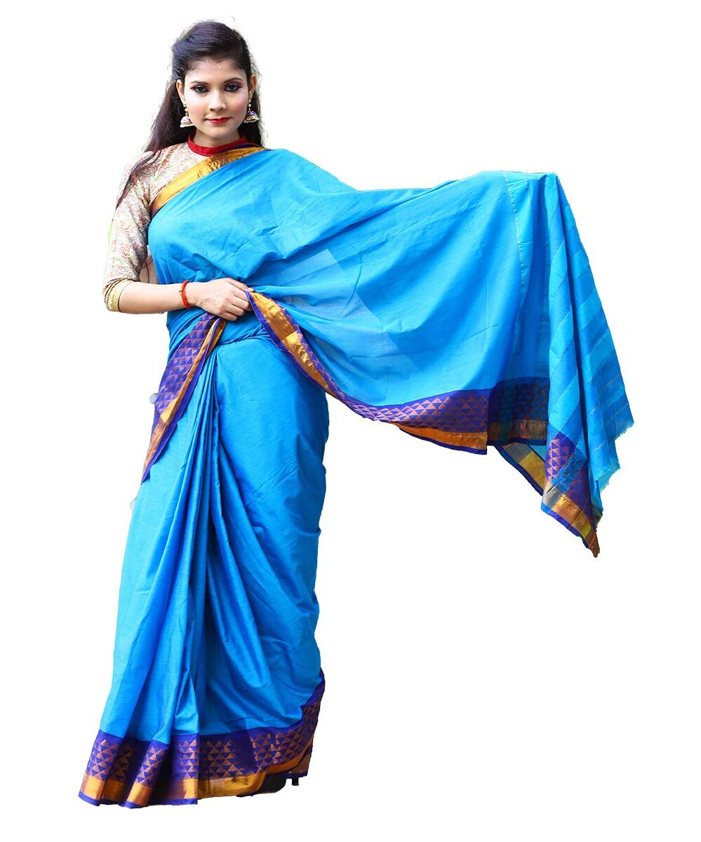 Cotton Silk Handloom Saree
