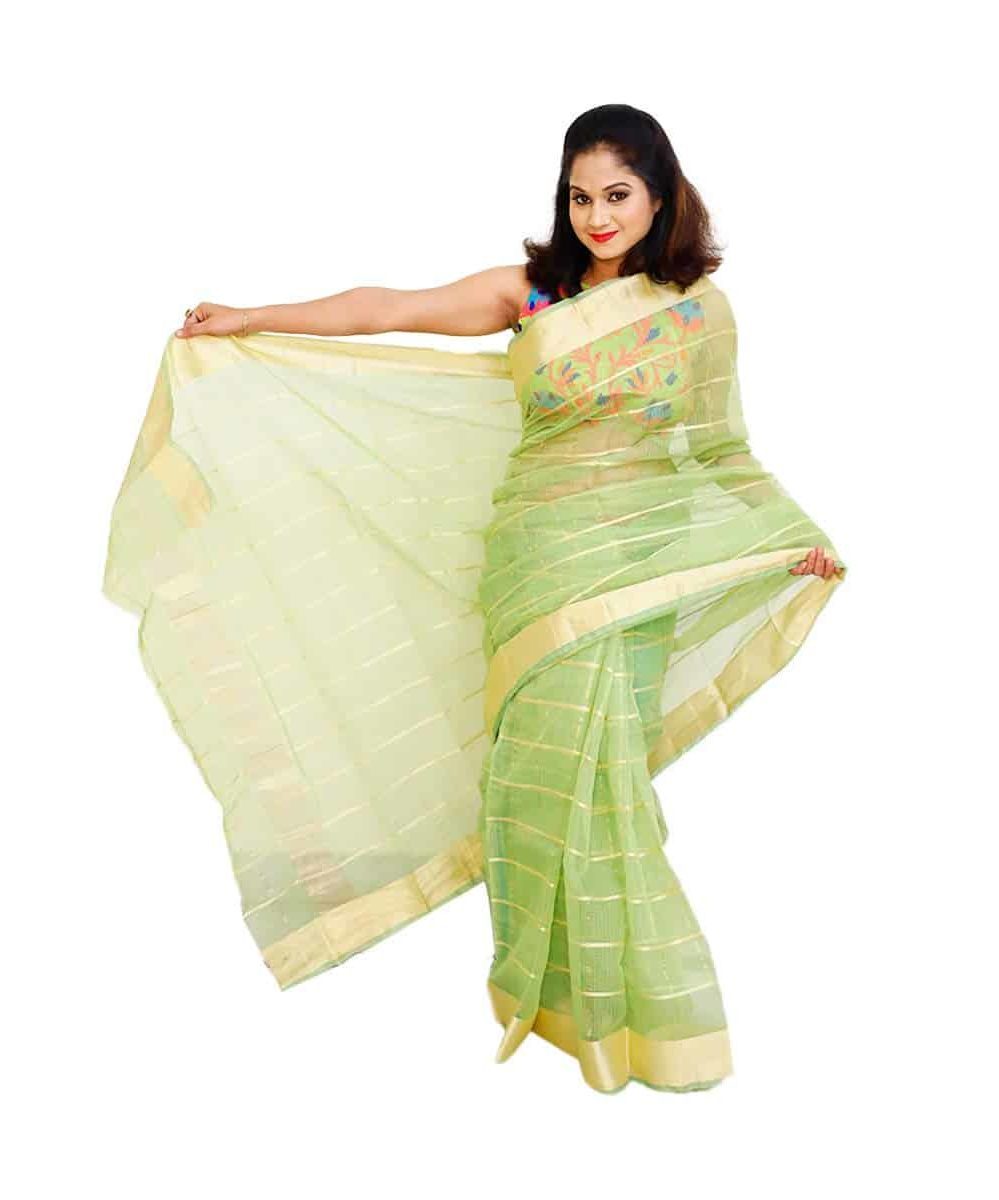 Kota Chanderi Check Saree