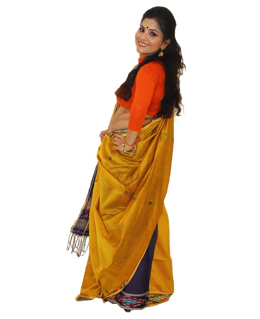 Khadi Ball Buti Designer Saree